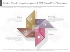 Service Relationship Management Ppt Powerpoint Templates