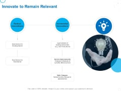 Service Strategy And Service Lifecycle Implementation Innovate To Remain Relevant Ppt Layouts Guidelines PDF