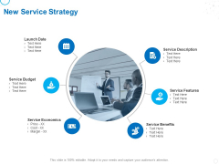 Service Strategy And Service Lifecycle Implementation New Service Strategy Ppt Icon Example Topics PDF