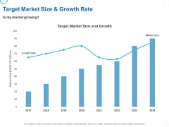 Service Strategy And Service Lifecycle Implementation Target Market Size And Growth Rate Ppt Portfolio Clipart PDF