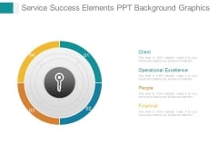 Service Success Elements Ppt Background Graphics