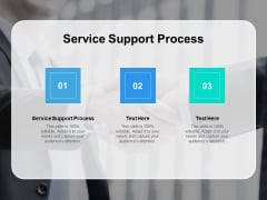 Service Support Process Ppt PowerPoint Presentation Summary Microsoft Cpb
