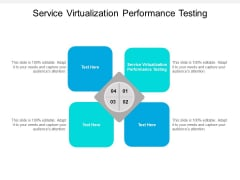 Service Virtualization Performance Testing Ppt PowerPoint Presentation Gallery Templates Cpb