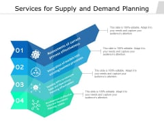 Services For Supply And Demand Planning Ppt PowerPoint Presentation Professional Sample PDF