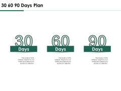 Services Proposal By Financial Representative 30 60 90 Days Plan Mockup PDF
