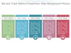 Set And Track Metrics Powerpoint Slide Background Picture