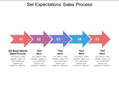 Set Expectations Sales Process Ppt PowerPoint Presentation Inspiration Gallery Cpb Pdf