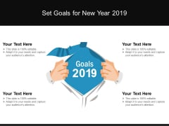 Set Goals For New Year 2019 Ppt PowerPoint Presentation Outline Show