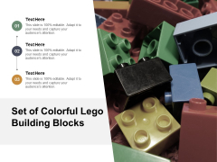 Set Of Colorful Lego Building Blocks Ppt Powerpoint Presentation Templates
