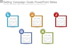 Setting Campaign Goals Powerpoint Slides