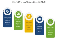 Setting Campaign Metrics Ppt PowerPoint Presentation Show Designs