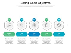 Setting Goals Objectives Ppt PowerPoint Presentation Infographic Template Background Designs Cpb