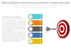 Setting Objectives And Planning Powerpoint Templates Microsoft