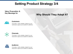 Setting Product Strategy Marketing Ppt PowerPoint Presentation Layouts Ideas