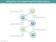 Setting Short Term Goals Powerpoint Slide Graphics
