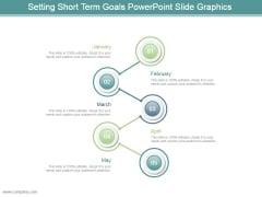 Setting Short Term Goals Powerpoint Slide Graphics