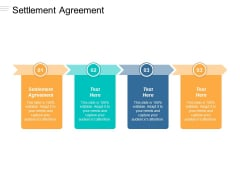 Settlement Agreement Ppt Powerpoint Presentation File Slide Cpb