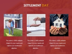 Settlement Day Ppt PowerPoint Presentation Professional
