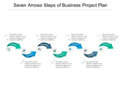 Seven Arrows Steps Of Business Project Plan Ppt PowerPoint Presentation Infographics Mockup