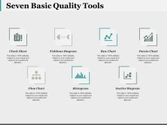 Seven Basic Quality Tools Ppt PowerPoint Presentation Outline Visual Aids
