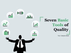 Seven Basic Tools Of Quality Ppt PowerPoint Presentation Complete Deck With Slides