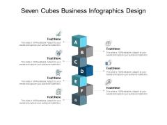Seven Cubes Business Infographics Design Ppt PowerPoint Presentation Ideas Inspiration
