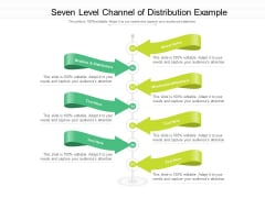 Seven Level Channel Of Distribution Example Ppt PowerPoint Presentation Inspiration Objects PDF