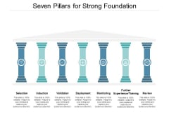 Seven Pillars For Strong Foundation Ppt PowerPoint Presentation Icon Themes
