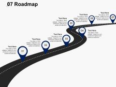 Seven Roadmap Ppt PowerPoint Presentation Gallery Slides
