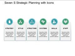 Seven S Strategic Planning With Icons Ppt PowerPoint Presentation Portfolio Graphics Download
