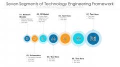 Seven Segments Of Technology Engineering Framework Ppt PowerPoint Presentation Gallery Slide PDF