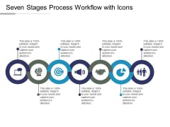 Seven Stages Process Workflow With Icons Ppt PowerPoint Presentation Model Slide Portrait