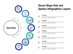 Seven Steps Hub And Spokes Infographics Layout Ppt PowerPoint Presentation Infographic Template Microsoft