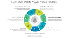Seven Steps Of Data Analysis Process With Icons Ppt PowerPoint Presentation Gallery Good PDF