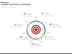 Seven Steps To Focus On Target Powerpoint Slides