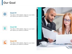 Share Of Wallet Our Goal Ppt Infographics Clipart PDF