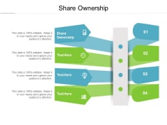 Share Ownership Ppt PowerPoint Presentation Model Example Topics Cpb