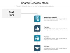 Shared Services Model Ppt PowerPoint Presentation Portfolio Slide Download Cpb Pdf