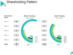 Shareholding Pattern Ppt PowerPoint Presentation Inspiration Layout Ideas