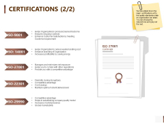 Shipment Proposal For Corporate Occasion Certifications Winner Elements PDF