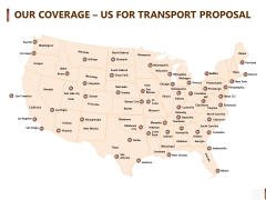Shipment Proposal For Corporate Occasion Our Coverage Us For Transport Proposal Template PDF