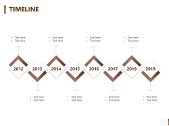Shipment Proposal For Corporate Occasion Timeline Structure PDF