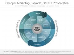 Shopper Marketing Example Of Ppt Presentation