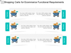 Shopping Carts For Ecommerce Functional Requirements Ppt PowerPoint Presentation Summary Images