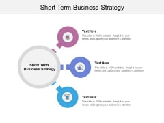 Short Term Business Strategy Ppt PowerPoint Presentation Files Cpb