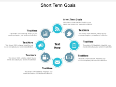 Short Term Goals Ppt Powerpoint Presentation Summary Introduction Cpb