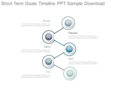 Short Term Goals Timeline Ppt Sample Download