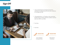 Sign Off Ppt PowerPoint Presentation Summary Professional
