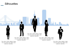 Silhouettes Communication Planning Ppt PowerPoint Presentation Icon Microsoft