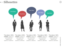 Silhouettes Ppt PowerPoint Presentation Files